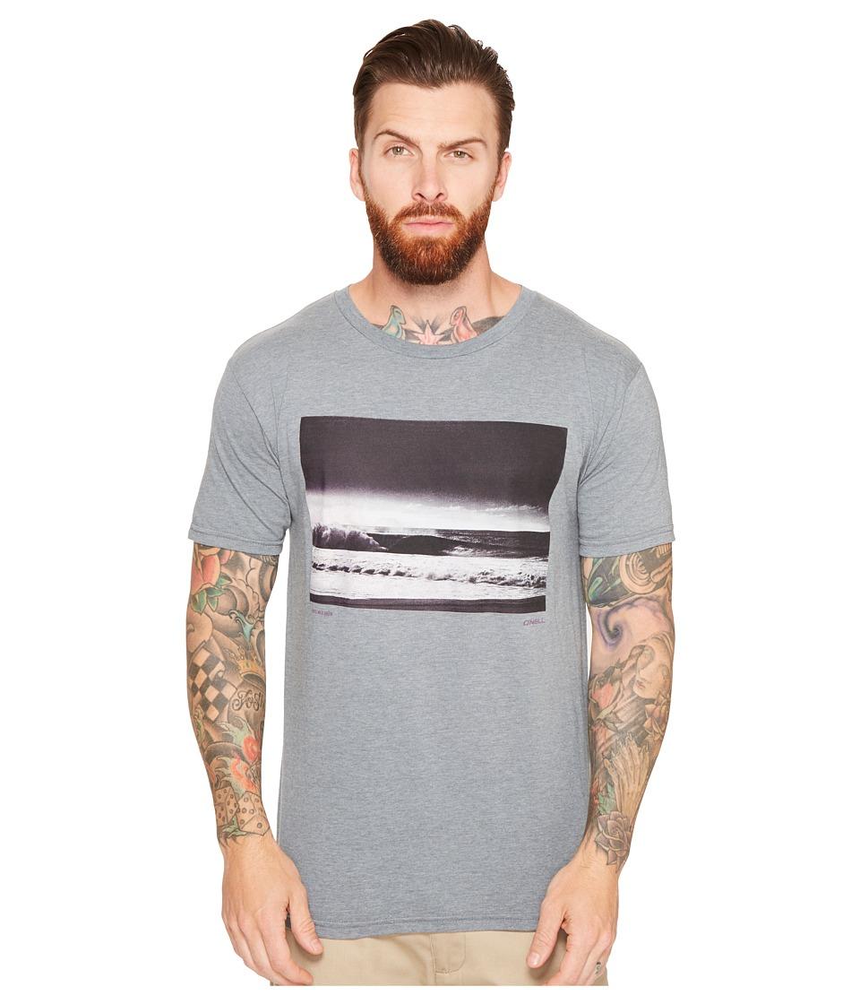 O'Neill - Far Out Tee (Medium Heather Grey) Men's T Shirt