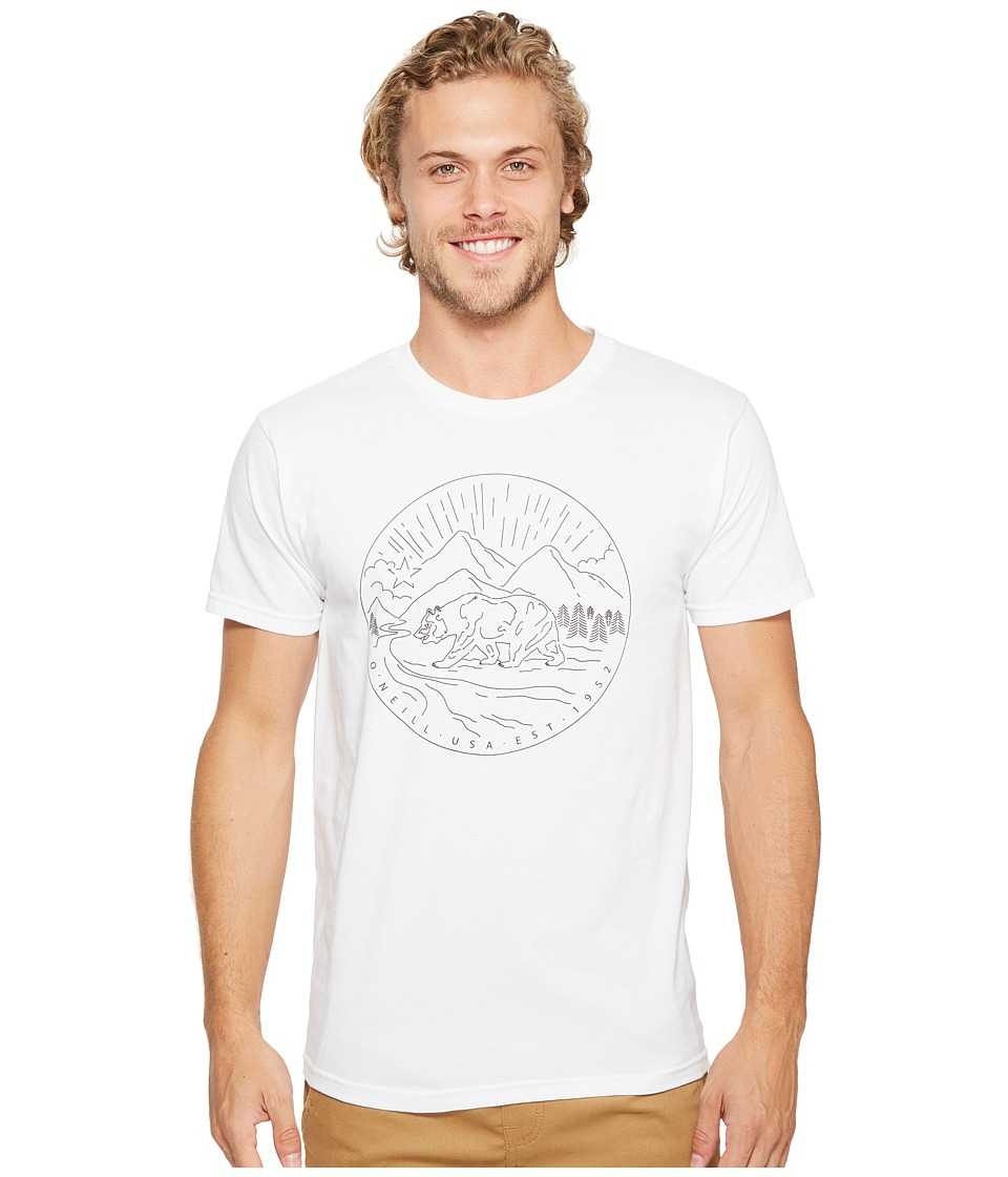 O'Neill - Foothill Tee (White) Men's T Shirt