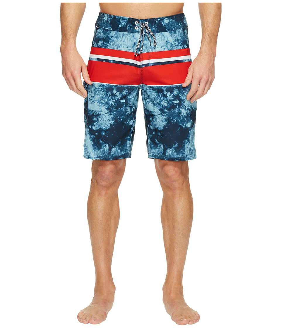 Reef - Southern Boardshorts (Blue) Men's Swimwear