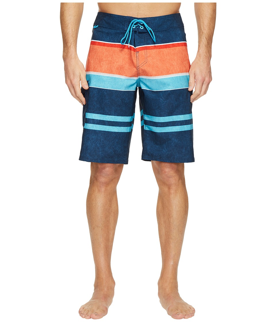 Reef - Layered Boardshorts (Navy) Men's Swimwear