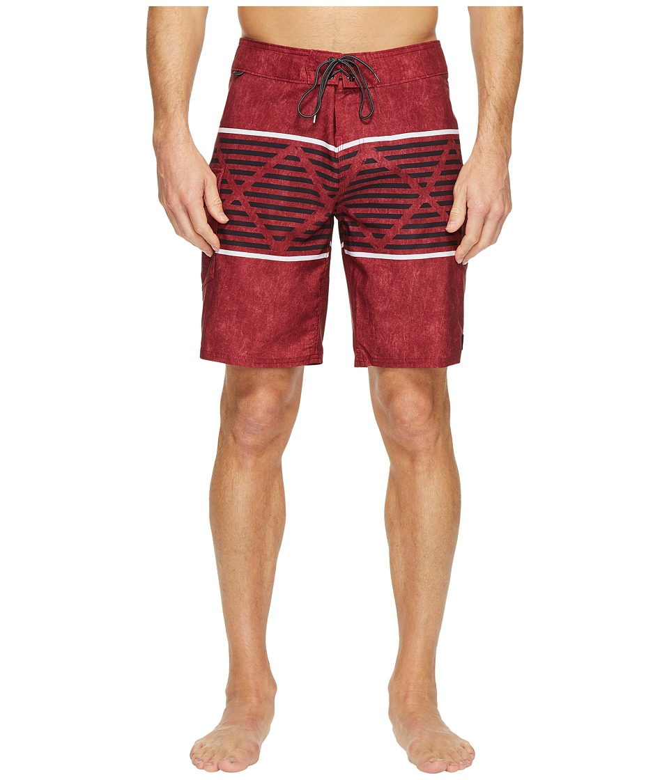 Reef - Atlanta Boardshorts (Maroon) Men's Swimwear