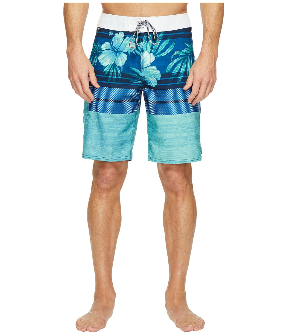 Reef - Release Boardshorts (Blue) Men's Swimwear