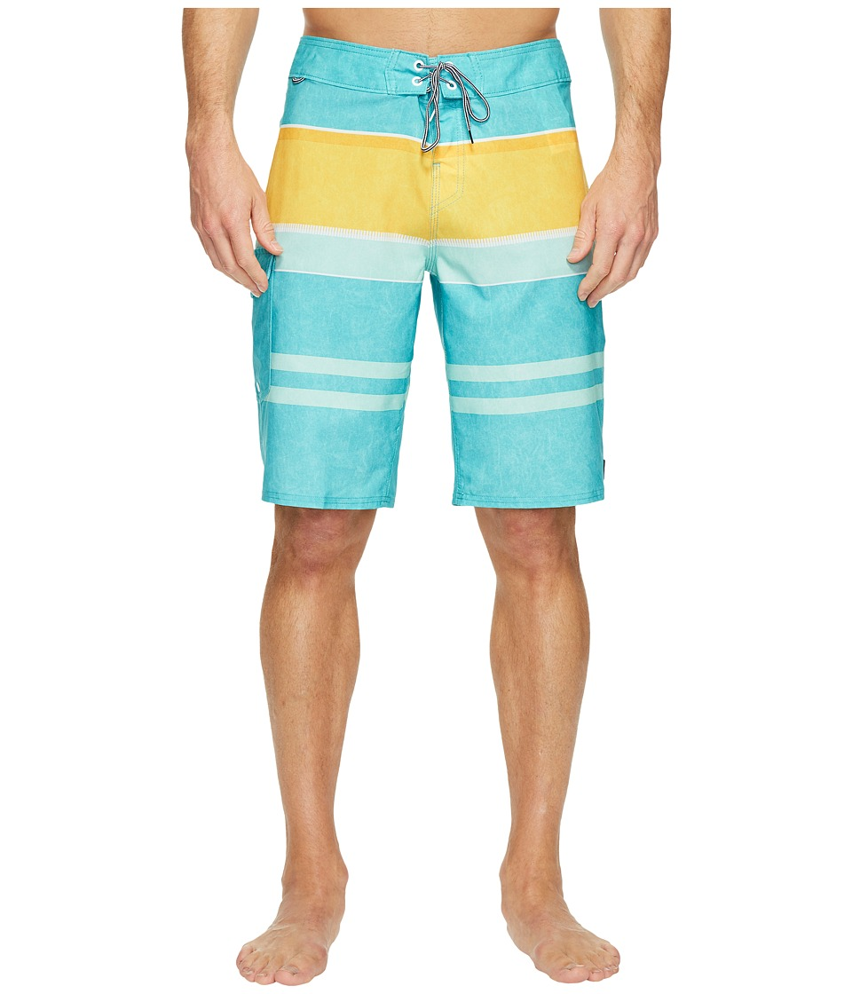 Reef - Layered Boardshorts (Aqua) Men's Swimwear