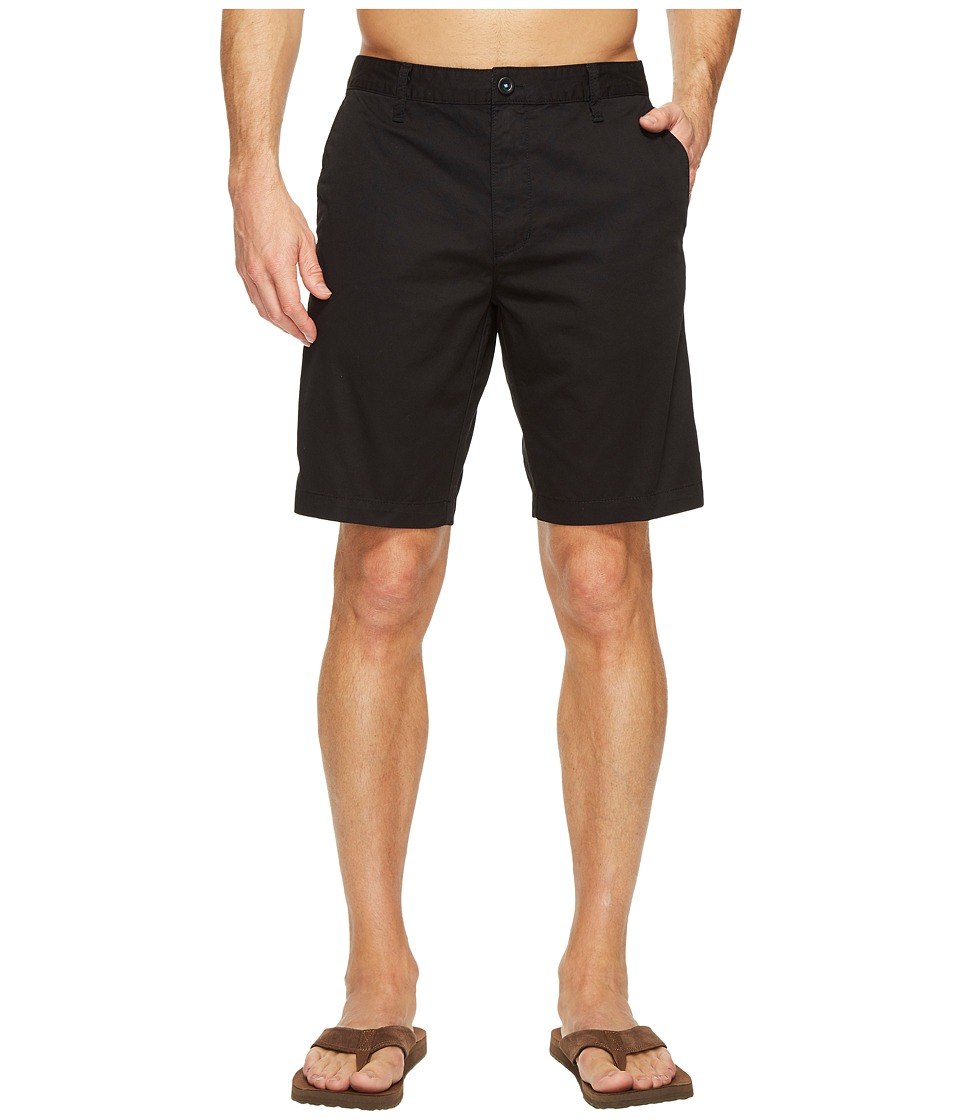 Reef - Moving on 3 Shorts (Black) Men's Shorts