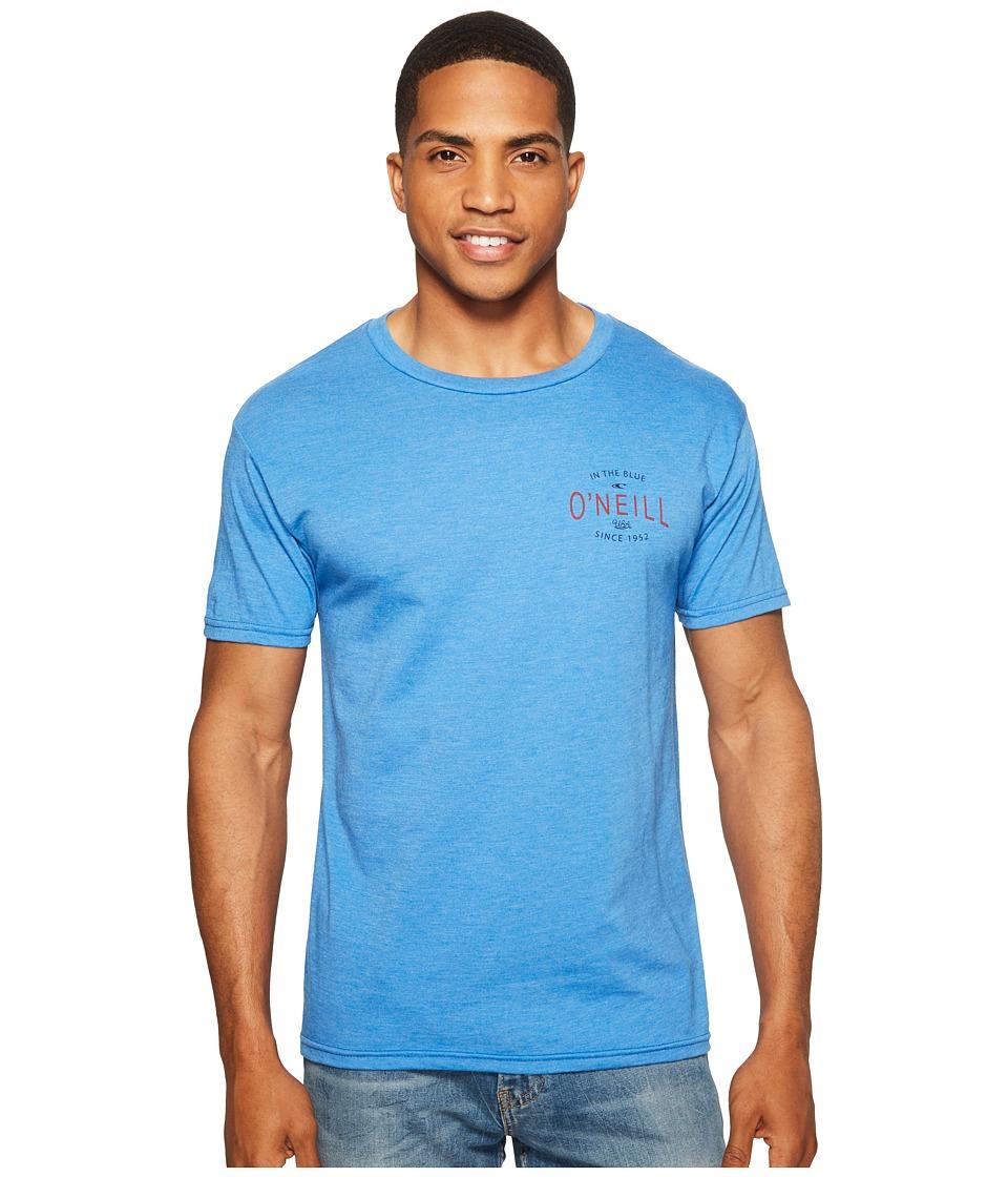 O'Neill - Subject Tee (Heather Royal) Men's T Shirt