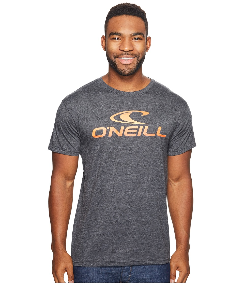 O'Neill - Hemisphere Tee (Heather Black) Men's T Shirt