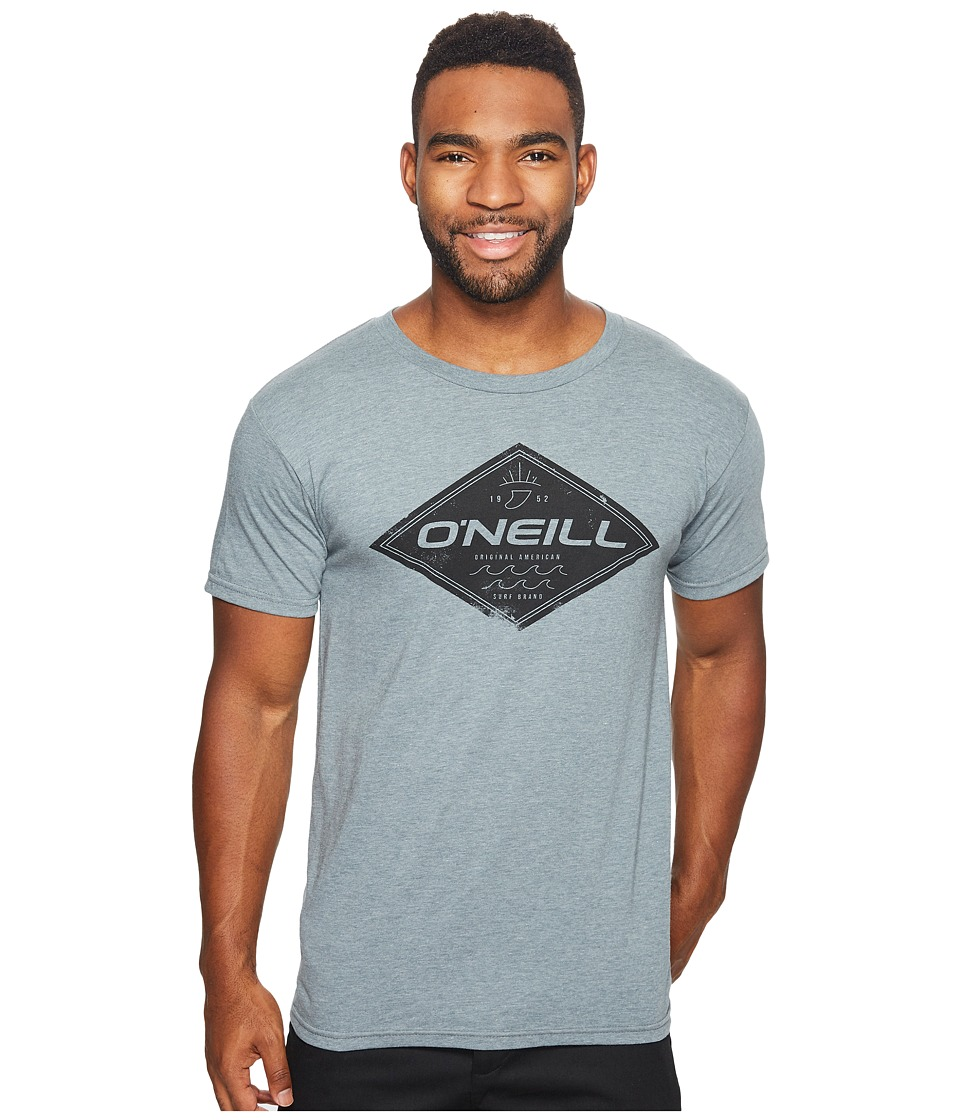 O'Neill - Zebra Tee (Medium Heather Grey) Men's T Shirt