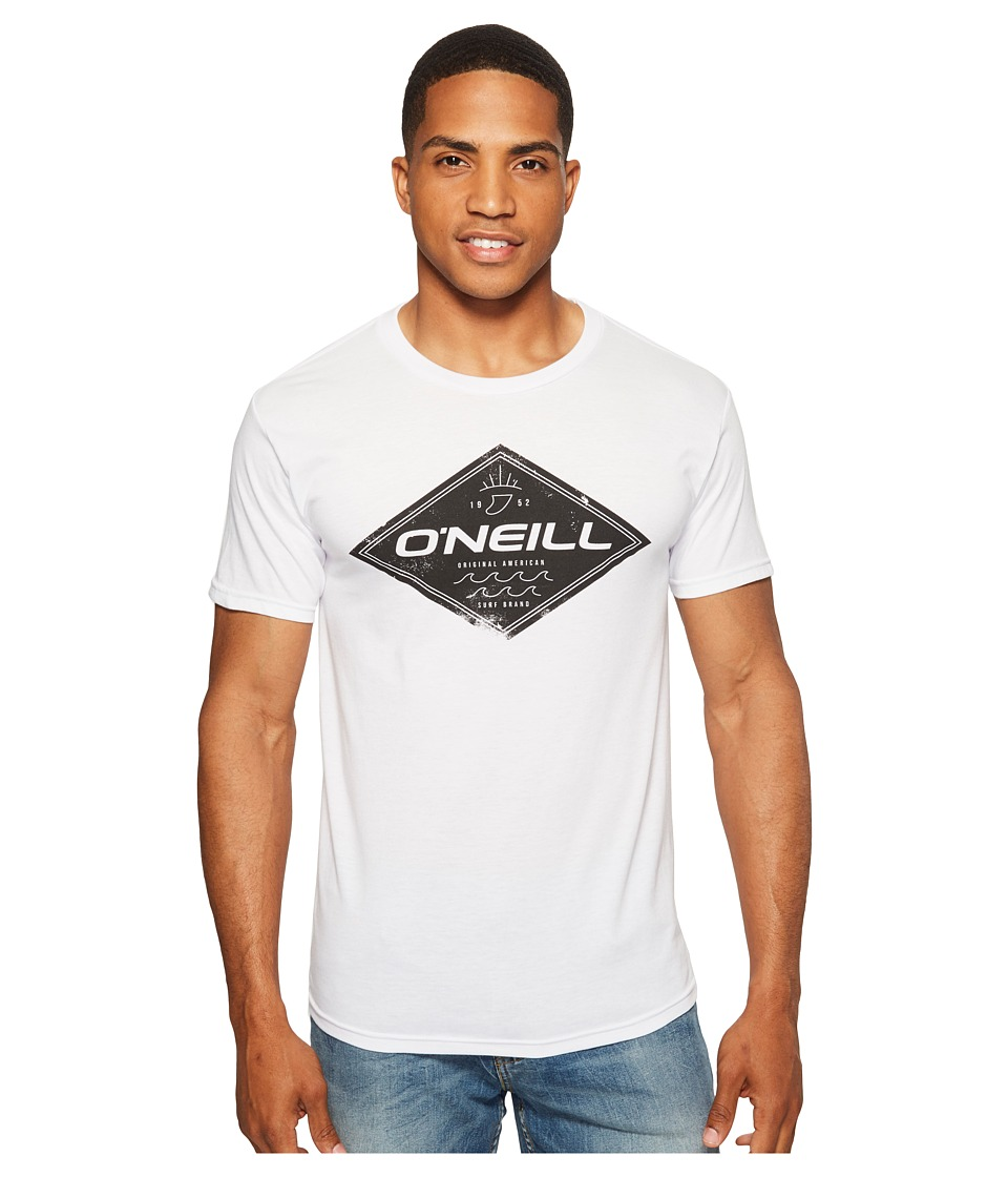 O'Neill - Zebra Tee (White) Men's T Shirt