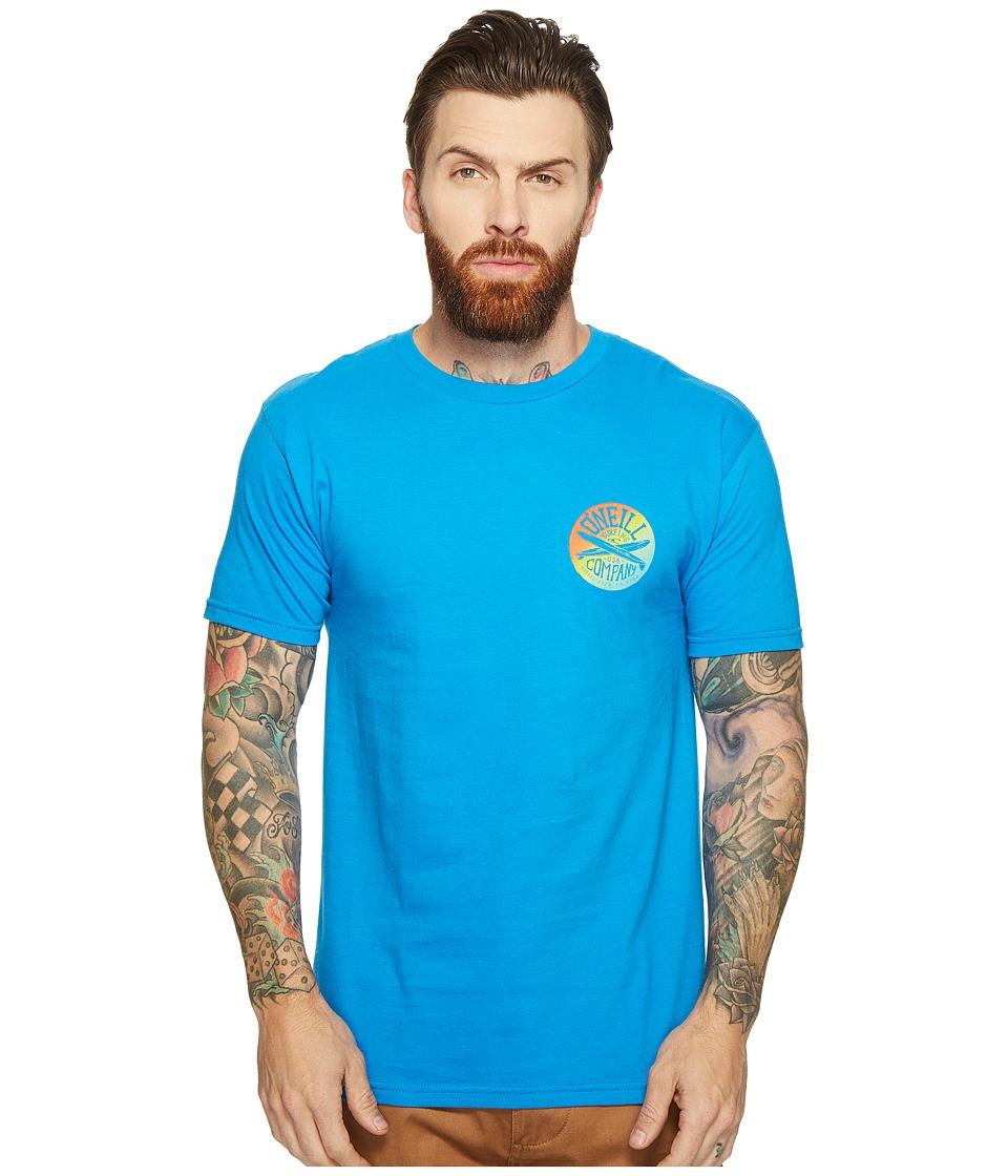 O'Neill - Cross Step Tee (Brilliant Blue) Men's T Shirt