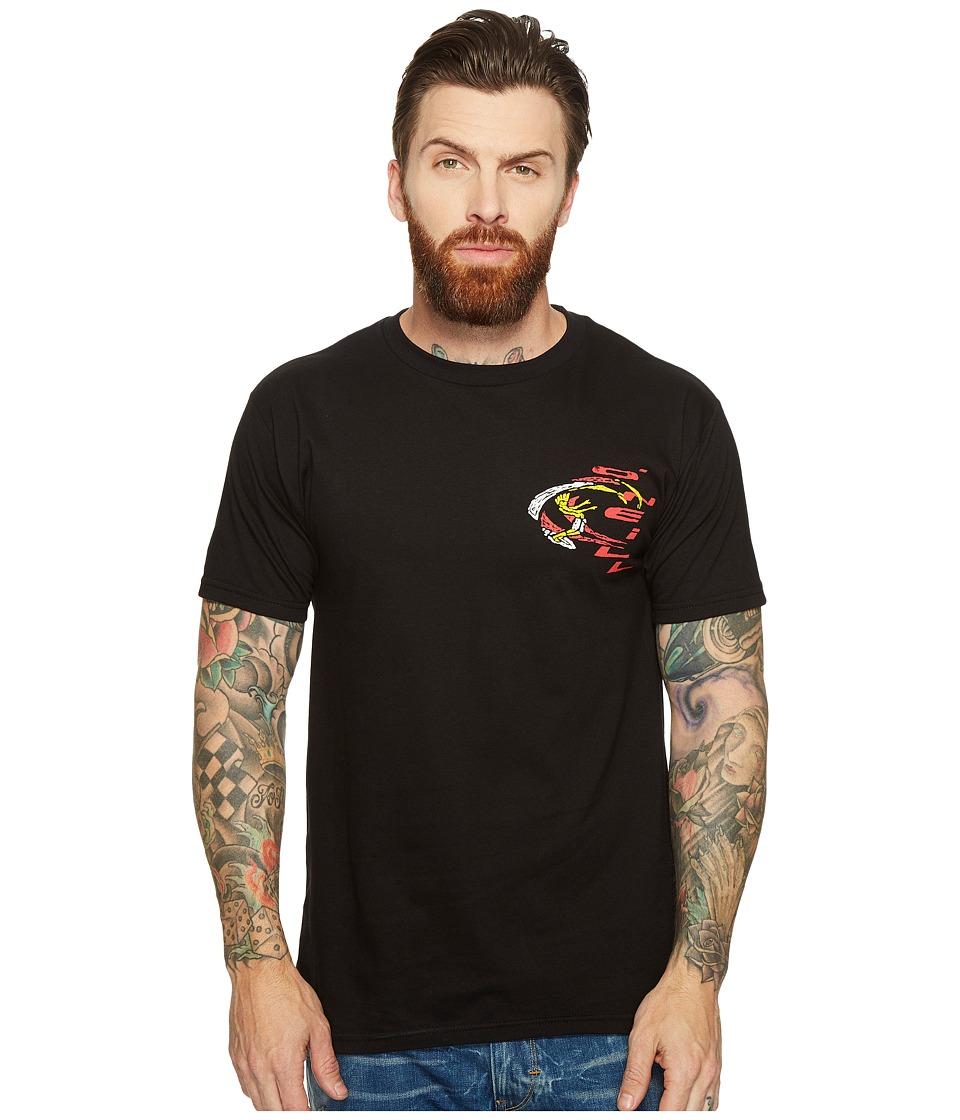 O'Neill - Zapper Tee (Black) Men's T Shirt