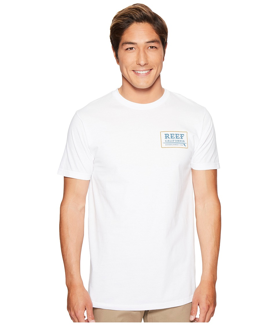 Reef - Supply Tee (White) Men's T Shirt