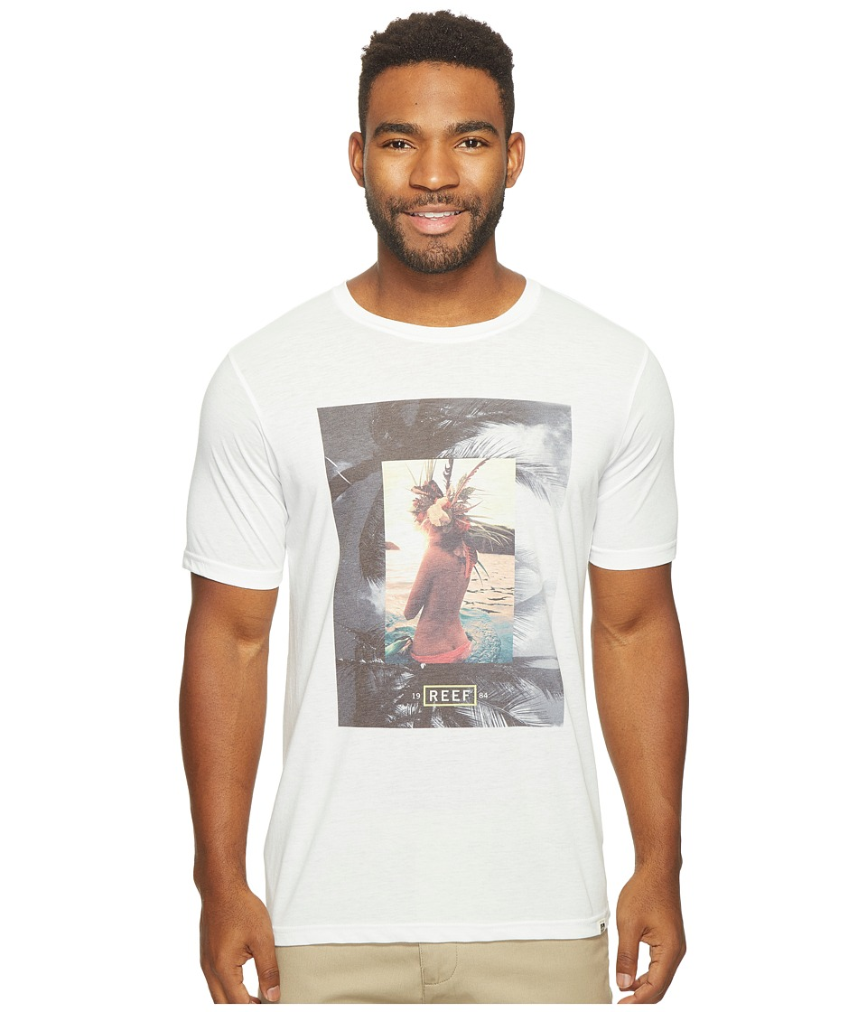 Reef - Vision Tee (White) Men's T Shirt