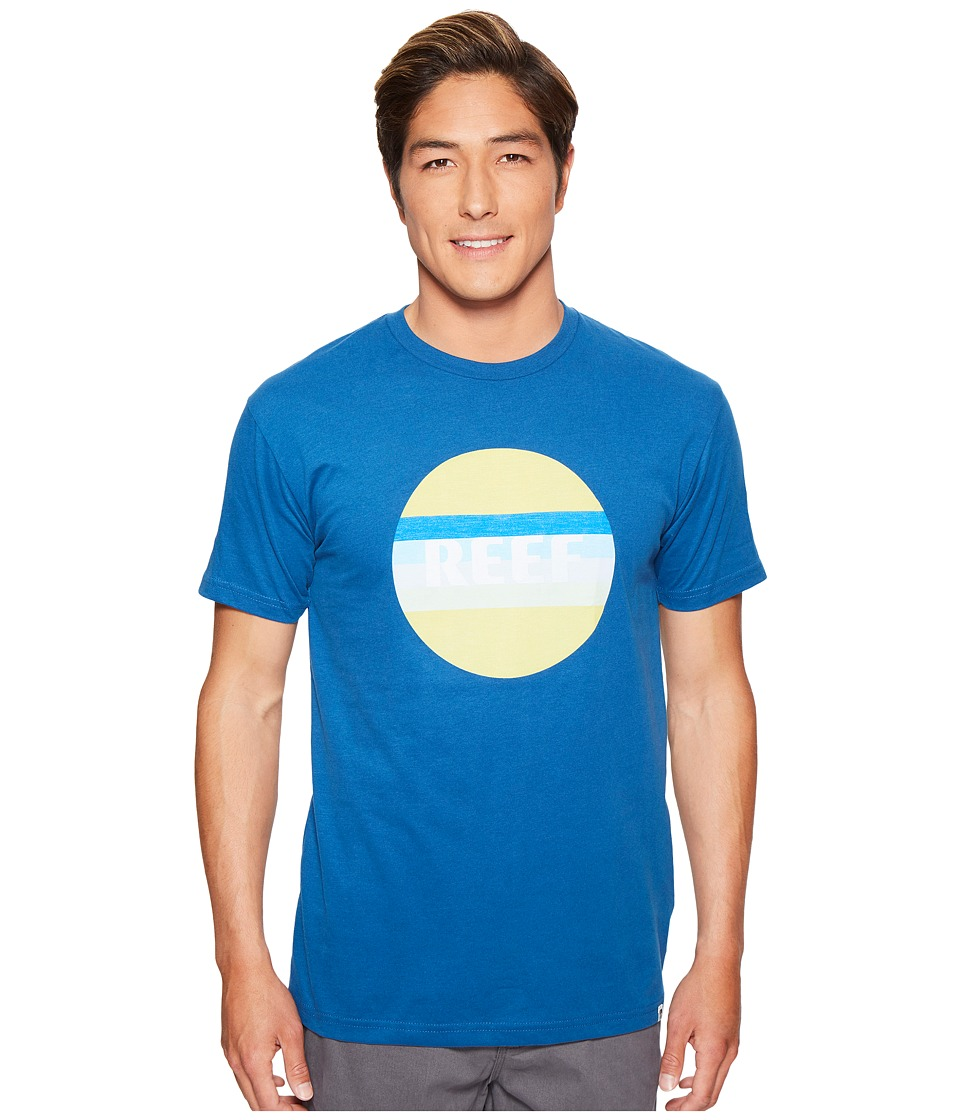 Reef - Simple Tee (Blue) Men's T Shirt