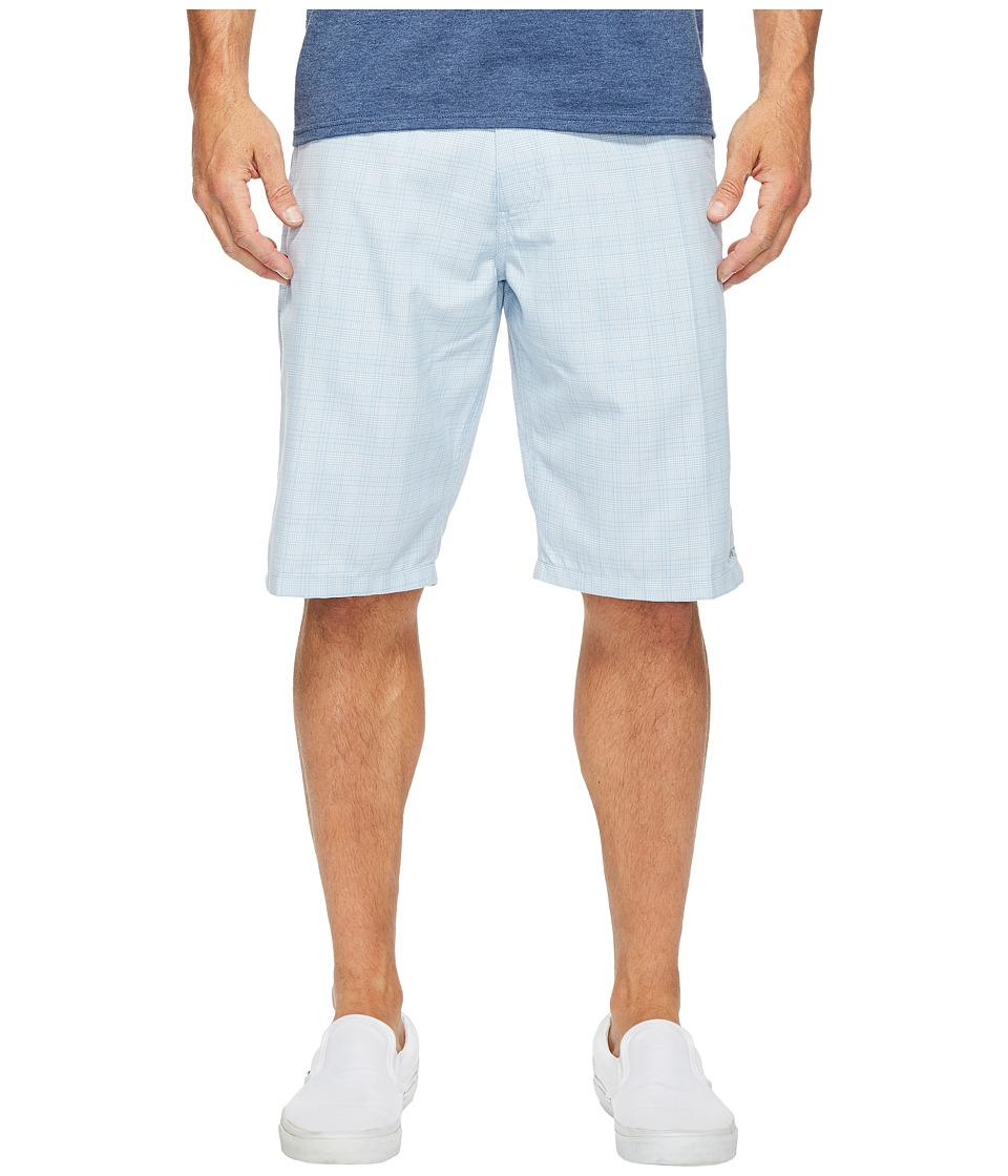 O'Neill - Delta Plaid Shorts (Light Blue) Men's Shorts