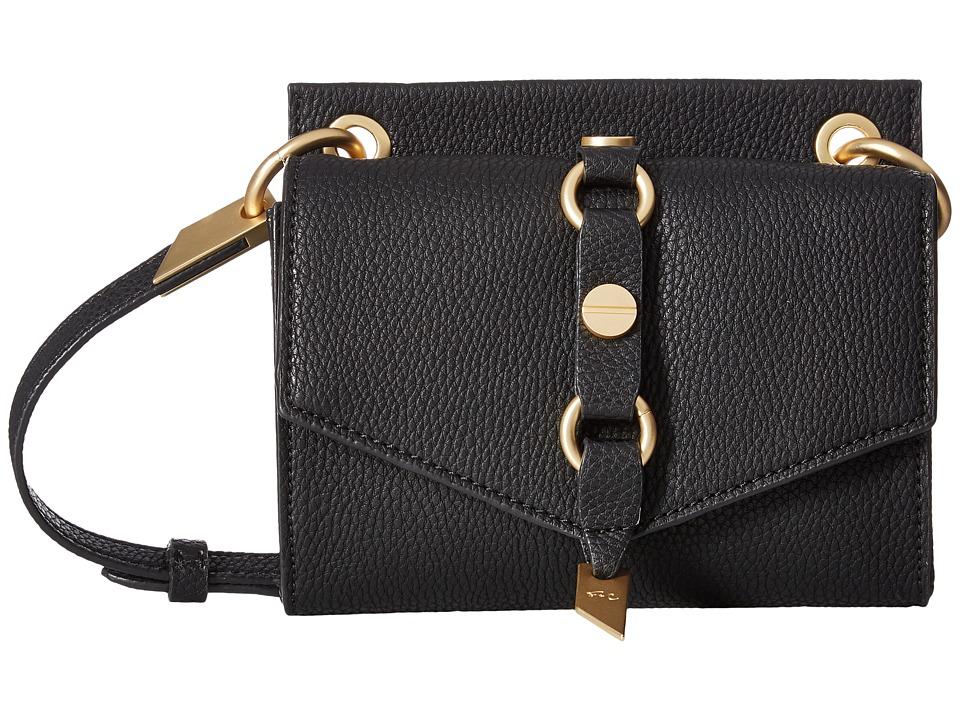 Foley & Corinna - Wildheart Mini Crossbody (Black) Cross Body Handbags