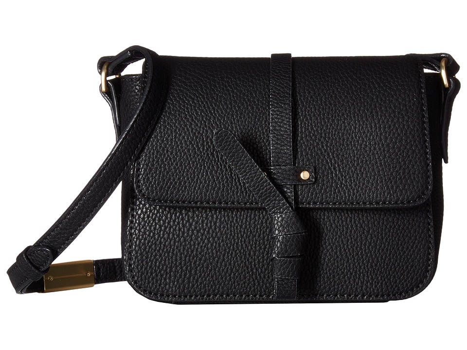 Foley & Corinna - Coconut Island Crossbody (Black) Cross Body Handbags