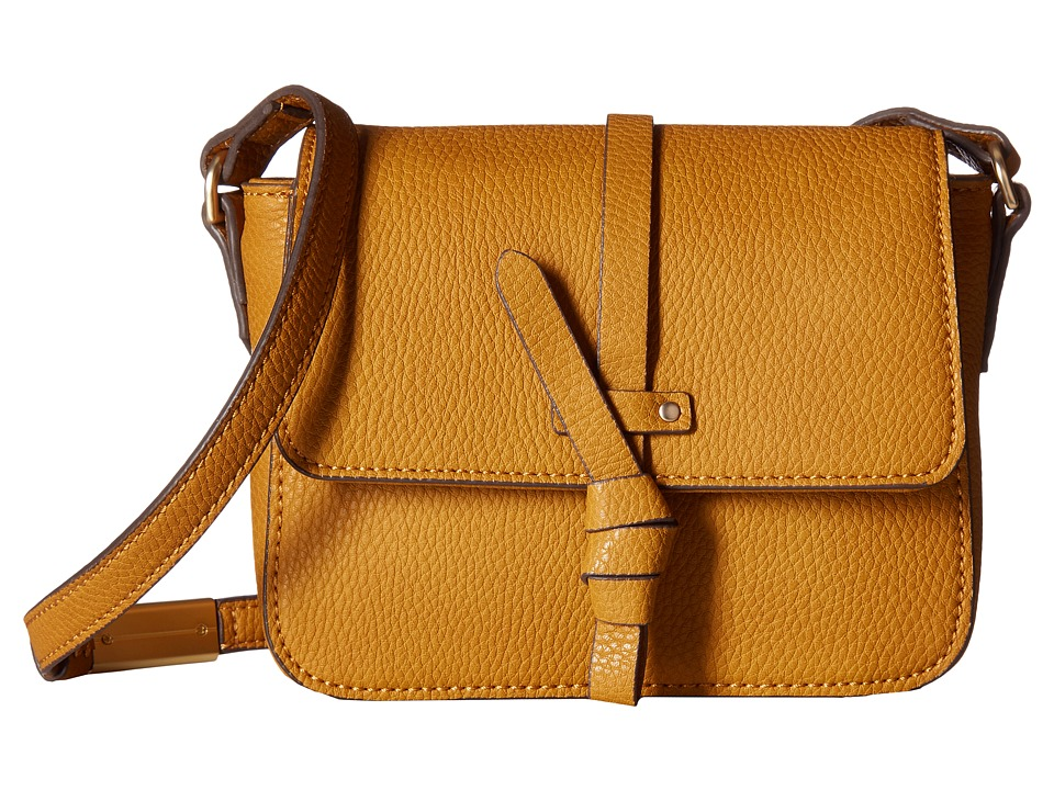 Foley & Corinna - Coconut Island Crossbody (Mustard) Cross Body Handbags