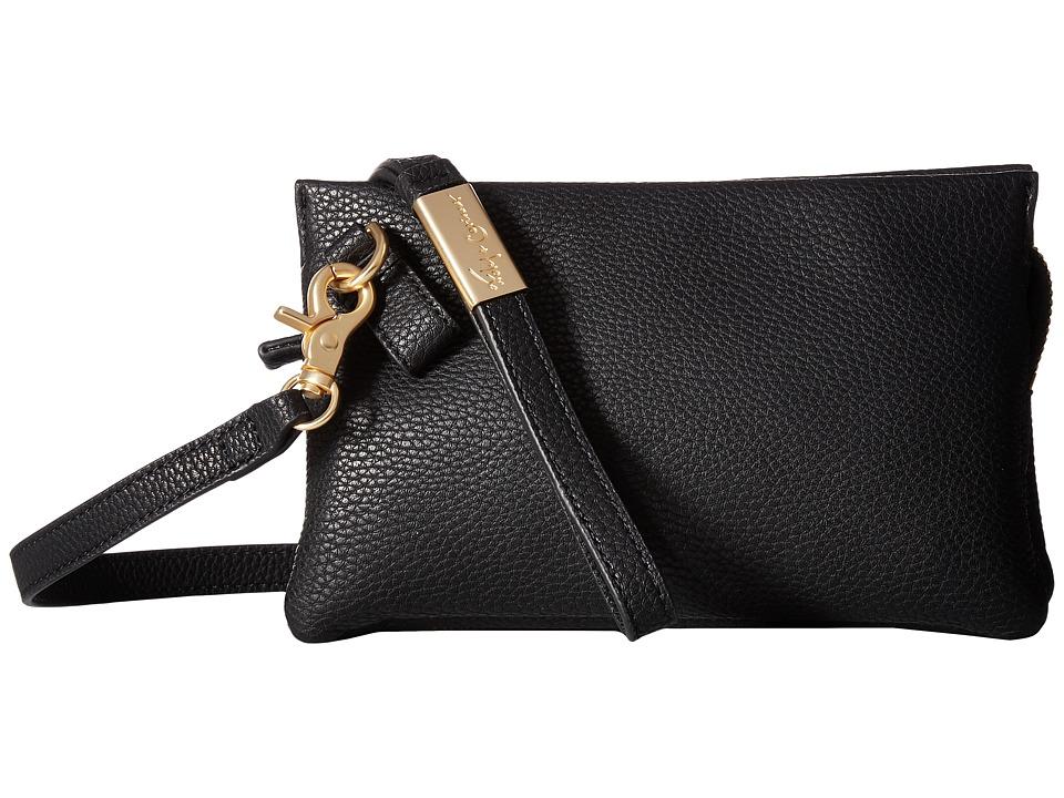 Foley & Corinna - Cache Crossbody (Black) Cross Body Handbags