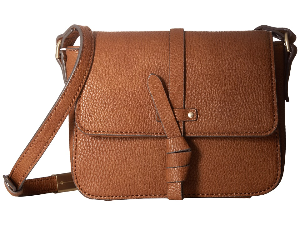 Foley & Corinna - Coconut Island Crossbody (Cognac) Cross Body Handbags