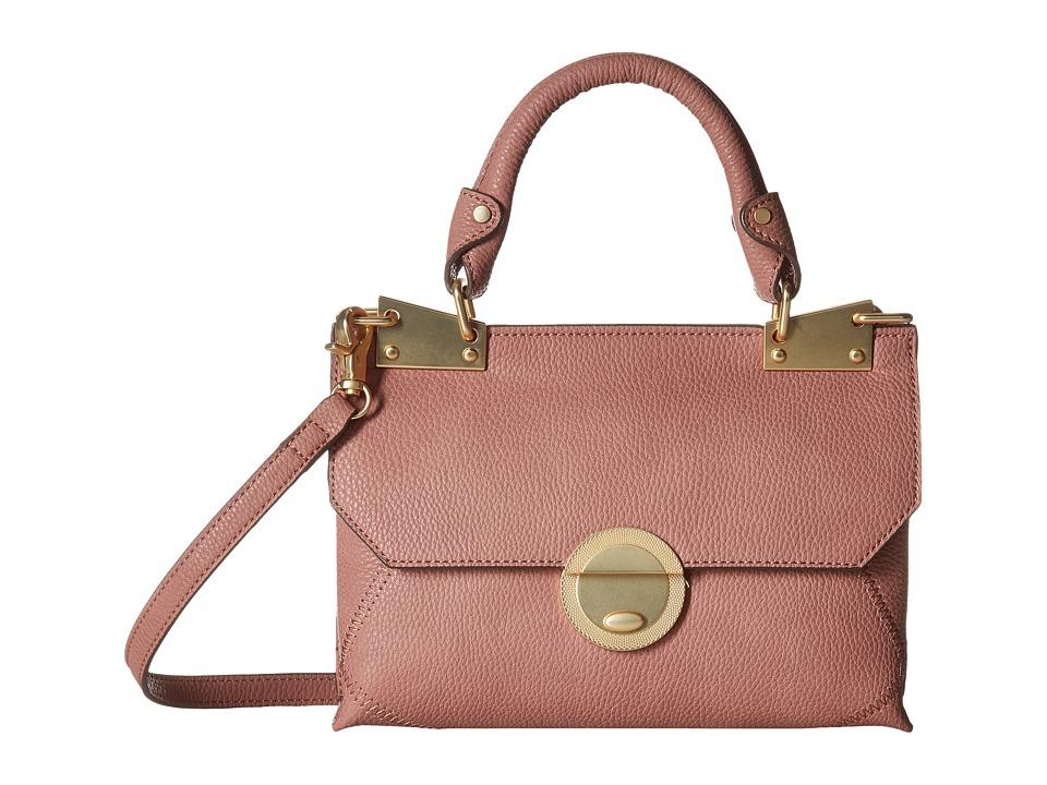 Foley & Corinna - Sedona Sunset Dione Flap Crossbody (Rosewood) Cross Body Handbags