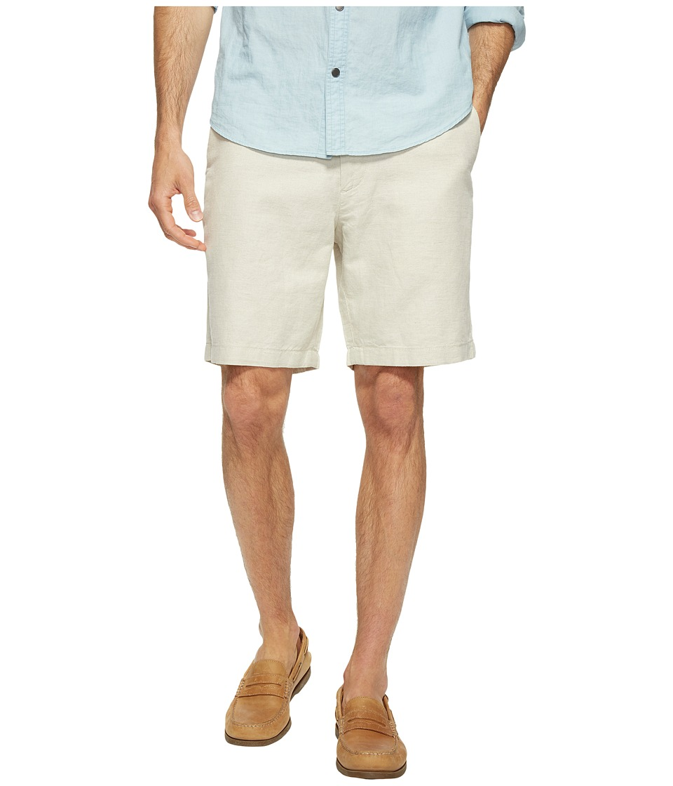 Nautica - Linen Cotton Shorts (Wheat Flax) Men's Shorts