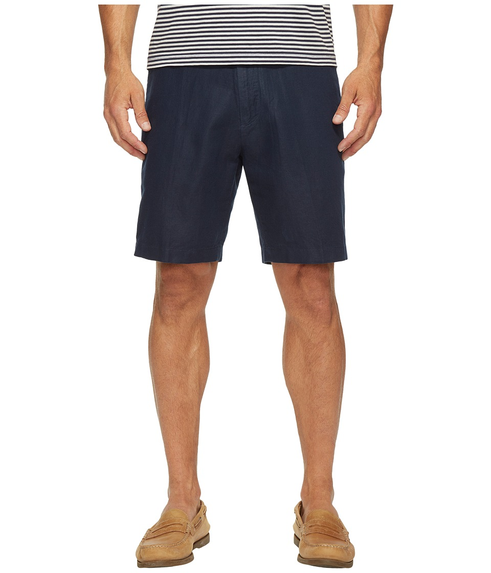 Nautica - Linen Cotton Shorts (Navy) Men's Shorts