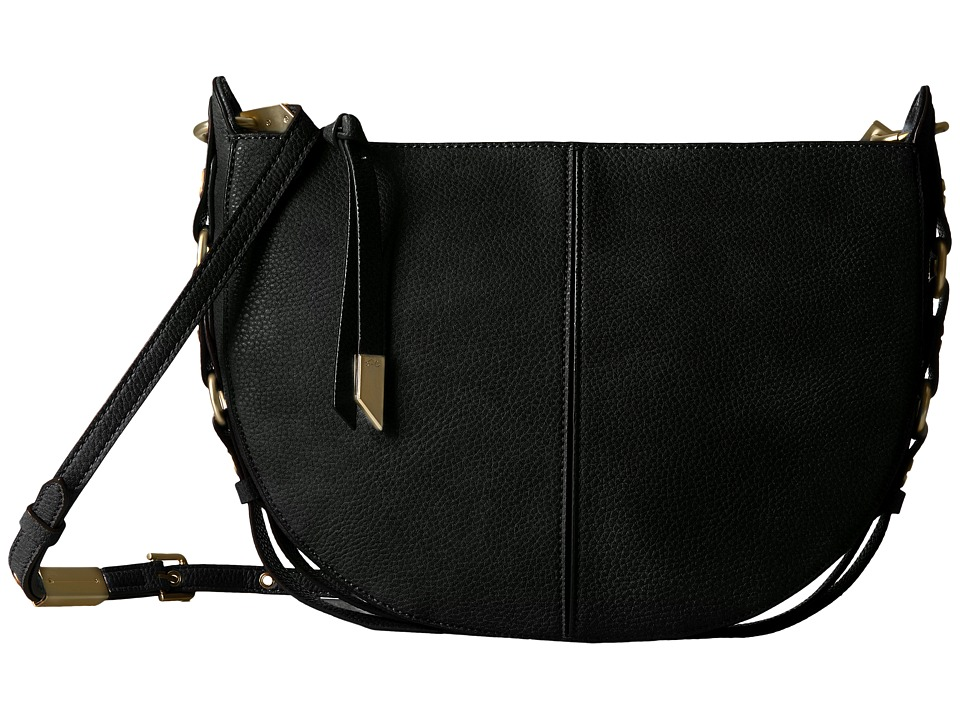 Foley & Corinna - Wildheart Crossbody Hobo (Black) Hobo Handbags