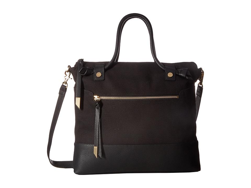 Foley & Corinna - Coconut Island Zip Top Tote (Black) Tote Handbags