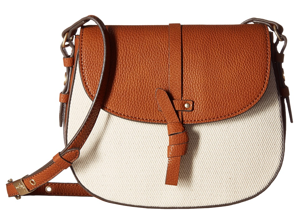 Foley & Corinna - Coconut Island Saddle Bag (Natural) Bags