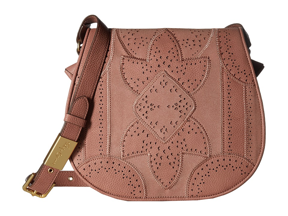 Foley & Corinna - Sedona Sunset Saddle Bag (Rosewood) Bags