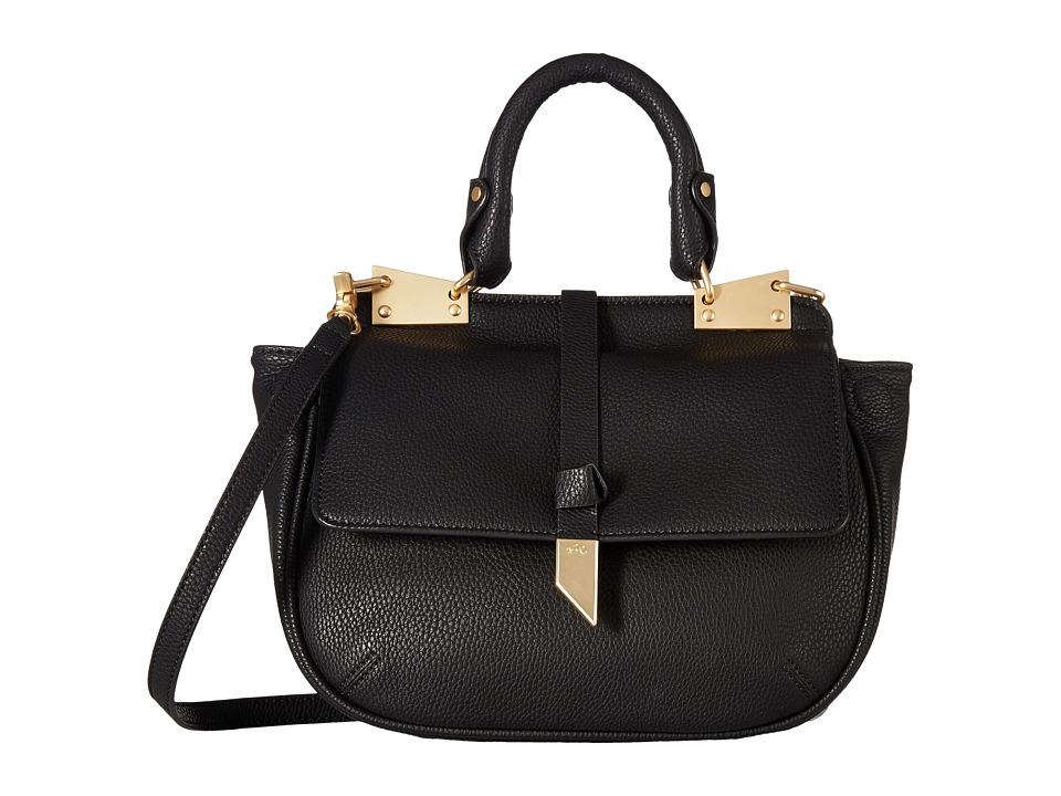 Foley & Corinna - Dione Saddle Bag (Black) Bags