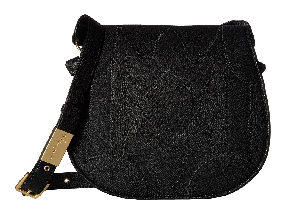 Foley & Corinna - Sedona Sunset Saddle Bag (Black) Bags