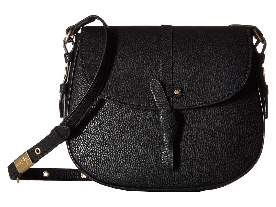 Foley & Corinna - Coconut Island Saddle Bag (Black) Bags