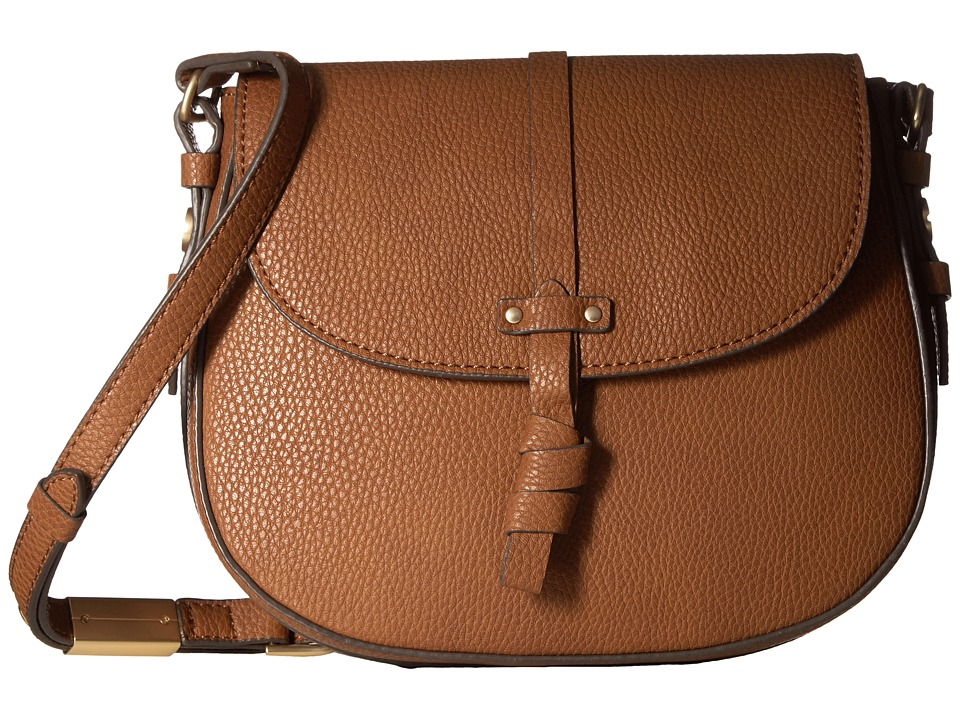 Foley & Corinna - Coconut Island Saddle Bag (Cognac) Bags