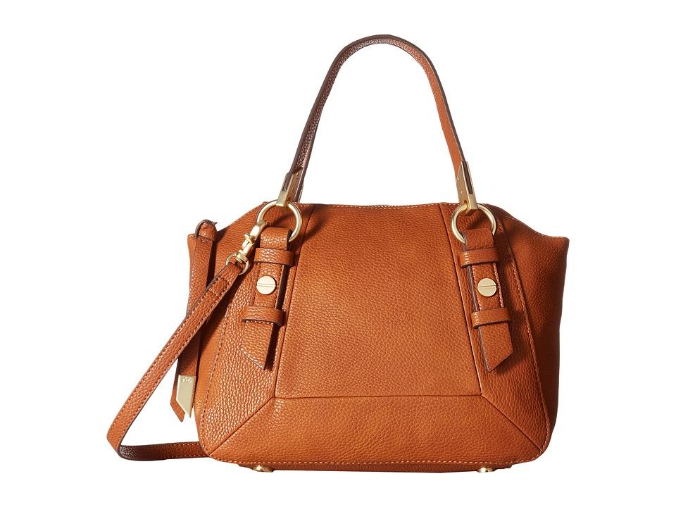Foley & Corinna - Coconut Island Satchel (Cognac) Satchel Handbags
