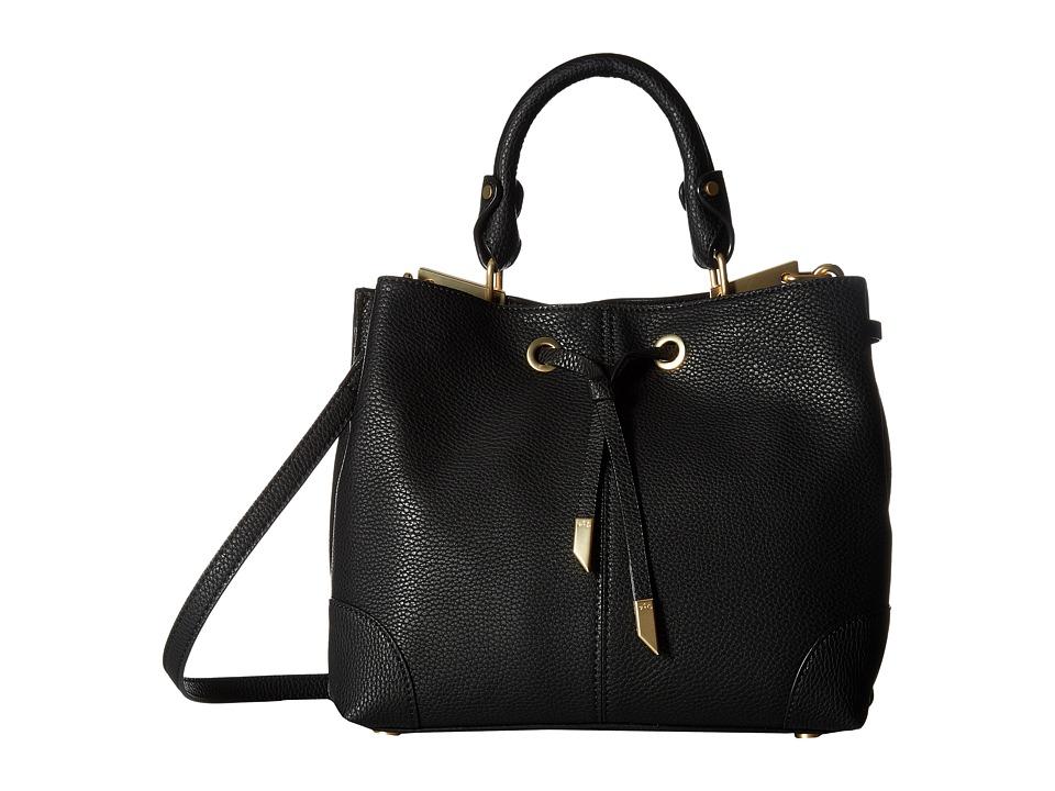 Foley & Corinna - Devon Satchel (Black) Satchel Handbags