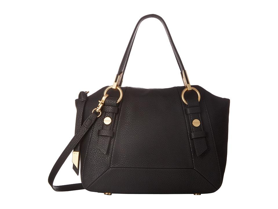 Foley & Corinna - Coconut Island Satchel (Black) Satchel Handbags