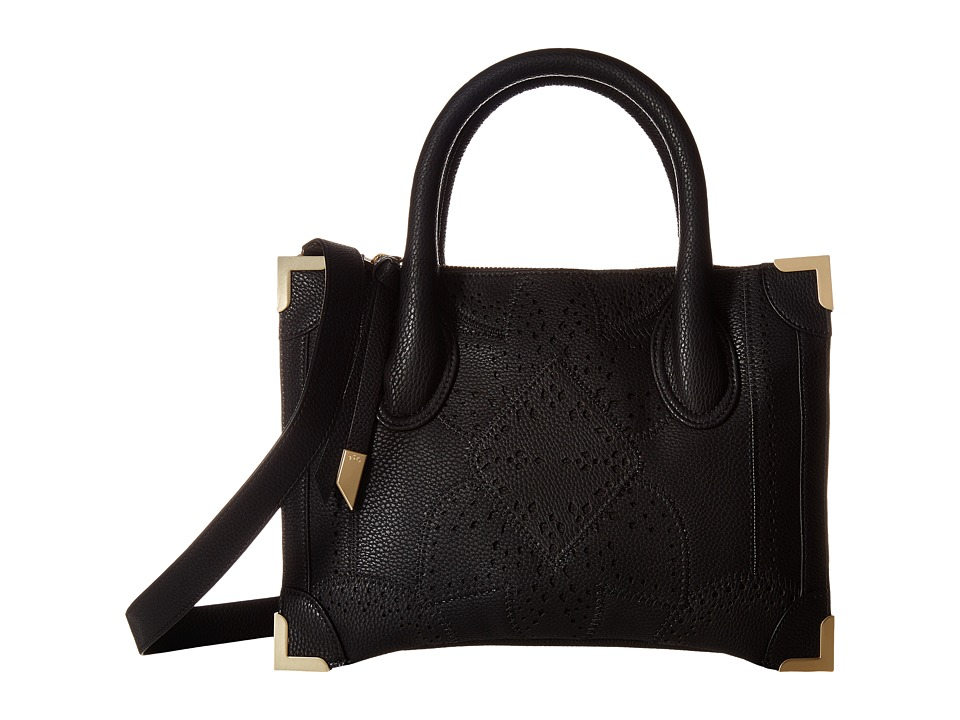 Foley & Corinna - Sedona Sunset Frankie Small Satchel (Black) Satchel Handbags