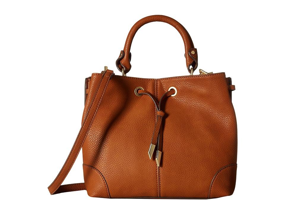 Foley & Corinna - Devon Satchel (Cognac) Satchel Handbags