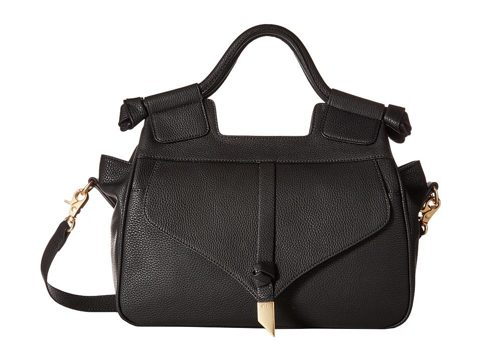 Foley & Corinna - Brittany Satchel (Black) Satchel Handbags