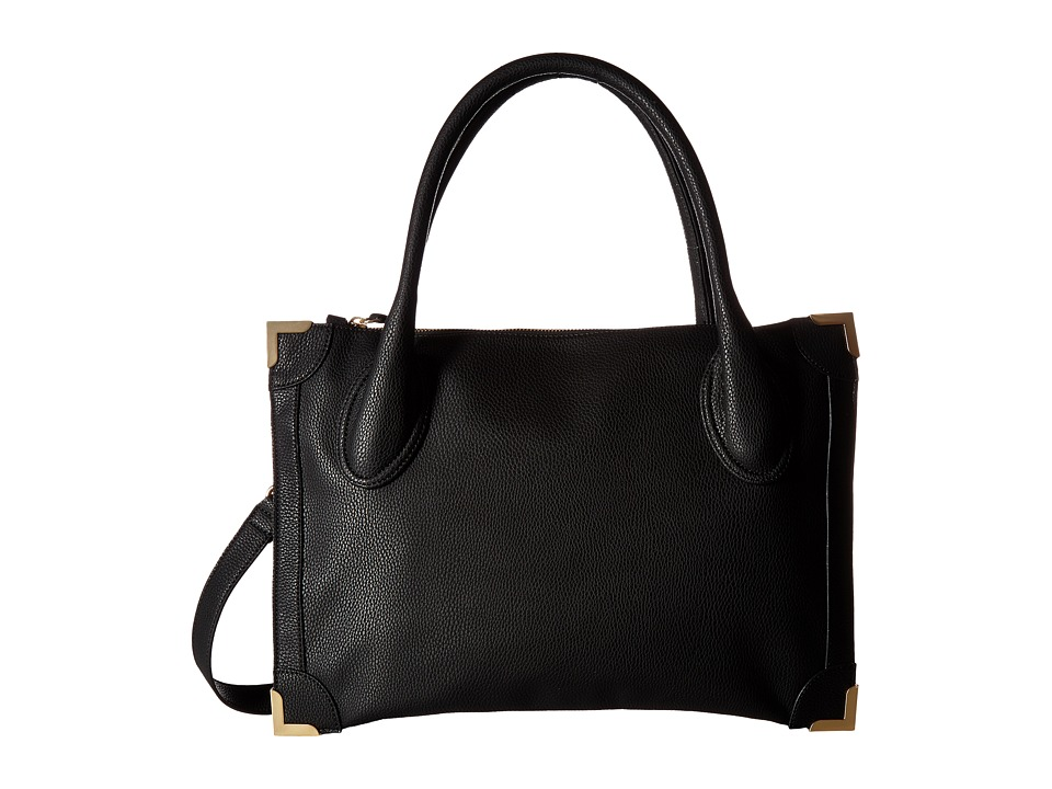 Foley & Corinna - Frankie Satchel (Black) Satchel Handbags
