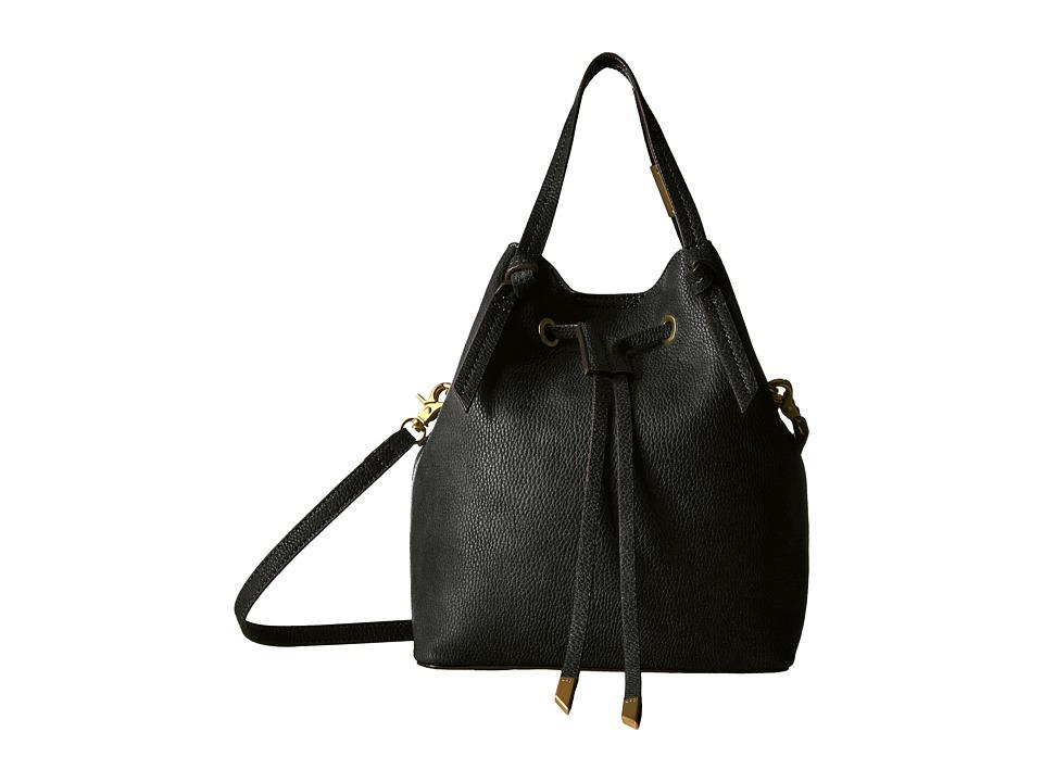 Foley & Corinna - Wildheart Small Drawstring (Black) Drawstring Handbags