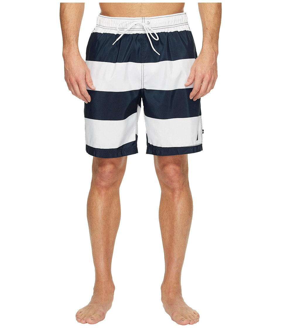 Nautica New Stripe Trunk (Bright White) Men