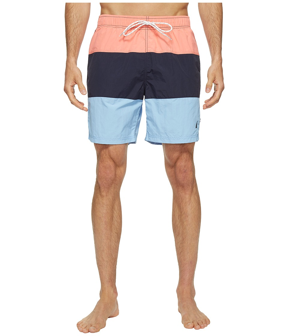 Nautica - Triblock Trunk (Pale Coral) Men's Swimwear