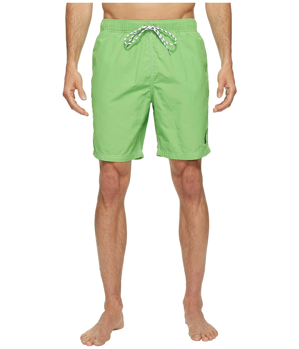Nautica - New Fashion Colors of Anchors Solid Trunk (Grass Blade) Men's Swimwear