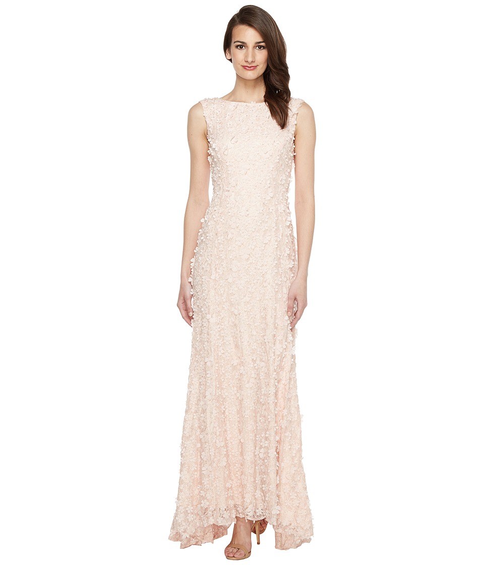Tahari by ASL - Florette Lace Gown (Blush Pink) Women's Dress