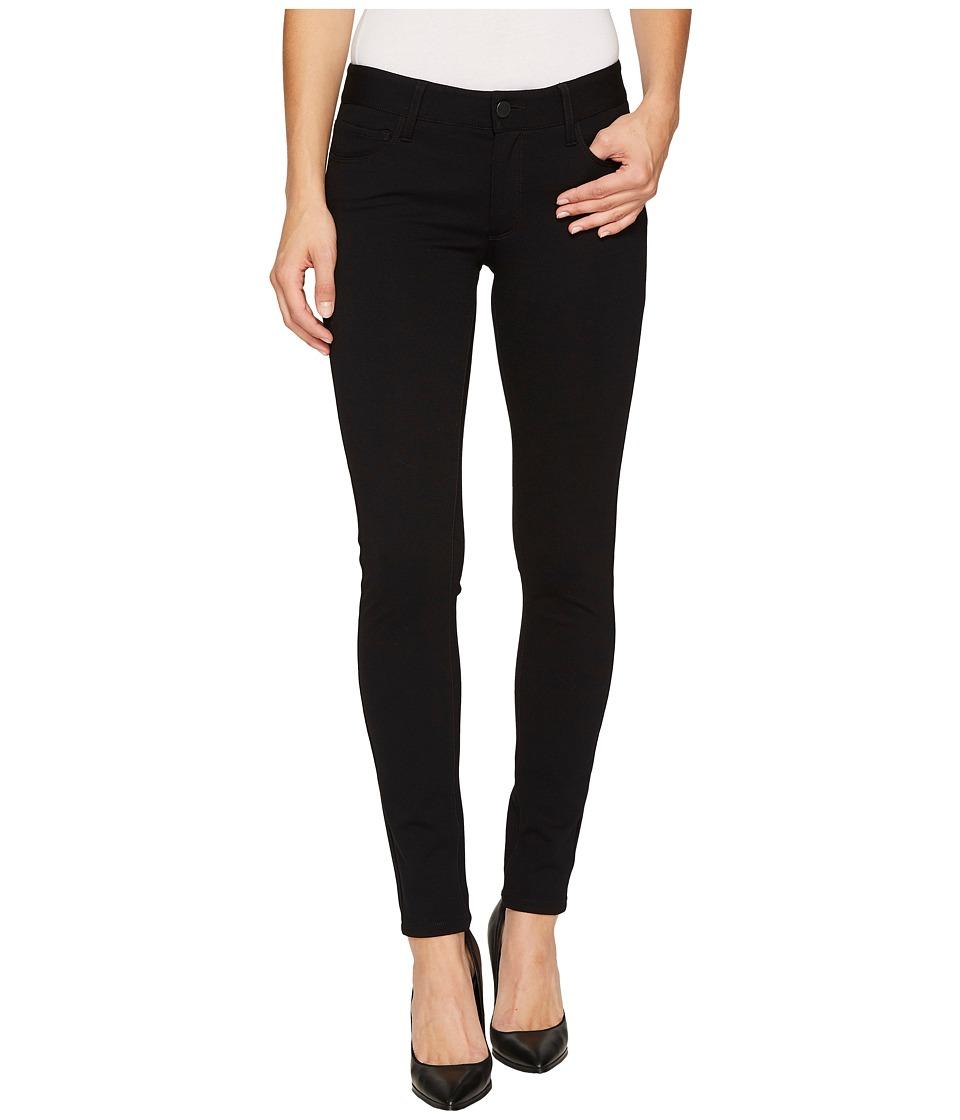 Paige - Verdugo Ankle Ponte Pants (Black) Women's Casual Pants