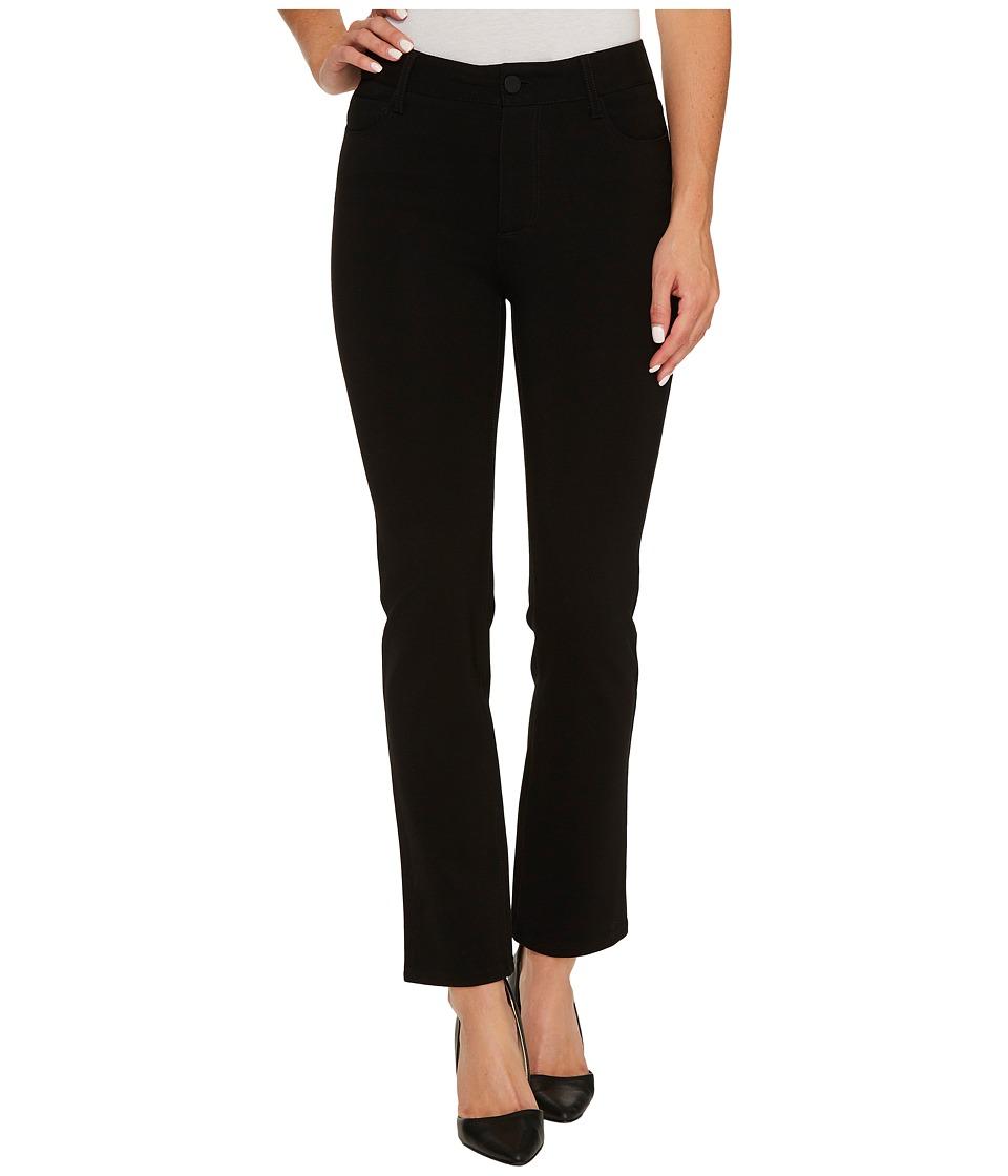 Paige - Jacqueine Ponte Pants (Black) Women's Casual Pants