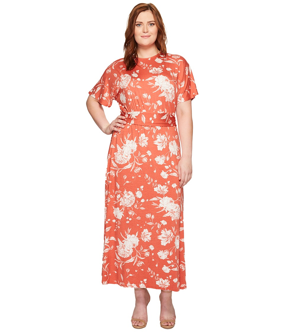Rachel Pally Plus Size Asta Dress (Chipotle Peony) Women