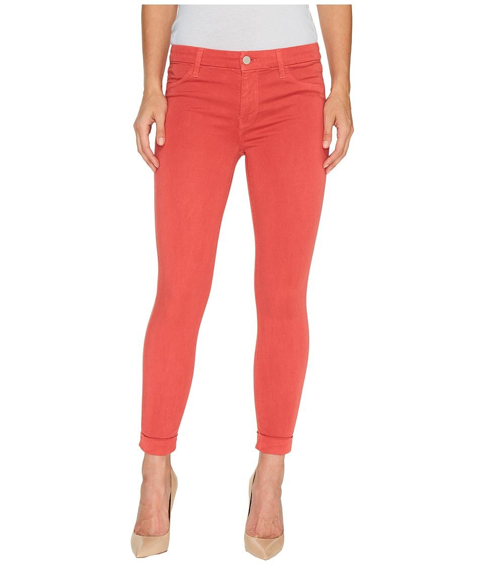 J Brand - Anja Mid-Rise Cuffed Crop in Roseate (Roseate) Women's Jeans